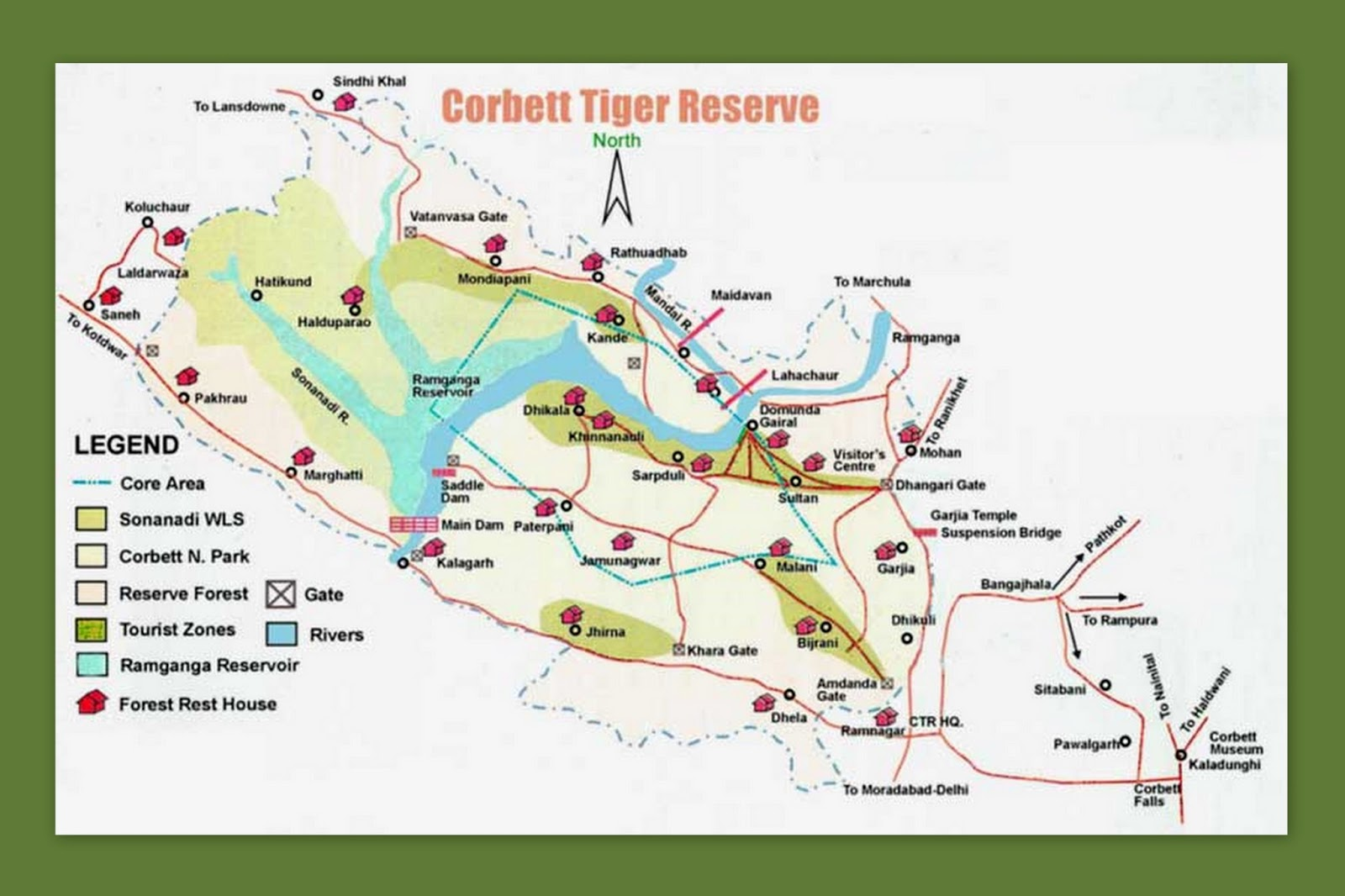 corbett tiger reserve Learn what makes corbett national park so special - it's history, the landscape, the flora and fauna.