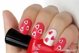 nail art nail Dia Dos Namorados Nails