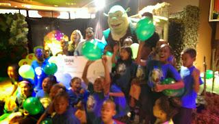 Baldwin+Hills+Elementary+School Shrek The Musical Surprise Celebration at Sweet- Baldwin Hills Elementary School awarded $10,000 Check