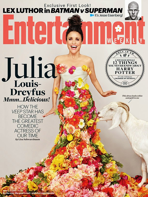 Actress @ Julia Louis-Dreyfus for Entertainment Weekly, April 2015