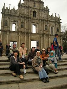Ruin of St.Paul Church - Macau