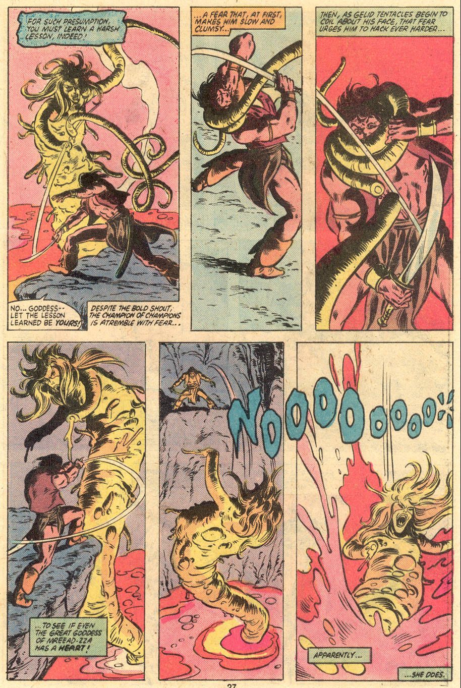 Conan the Barbarian (1970) Issue #121 #133 - English 21
