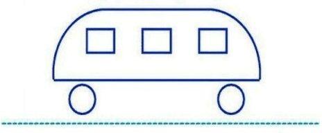 Fährt der Bus nach rechts oder nach links? Vorschüler!
