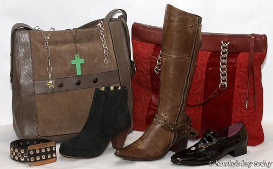 Belt, handbags, shoes, boots, jewellery - product, Lolita, Middle Rd, Havelock North photograph