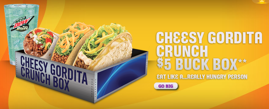 Taco Bell Launches the u201cFive Buck Buck Box.u201d Seriously.  sc 1 st  Matthew Fenton & Taco Bell Launches the