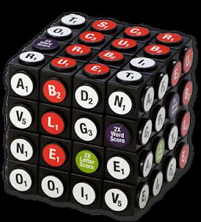 Scruble Cube falls apart easily