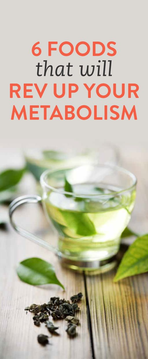 6 Foods That Could Speed Up Your Metabolism