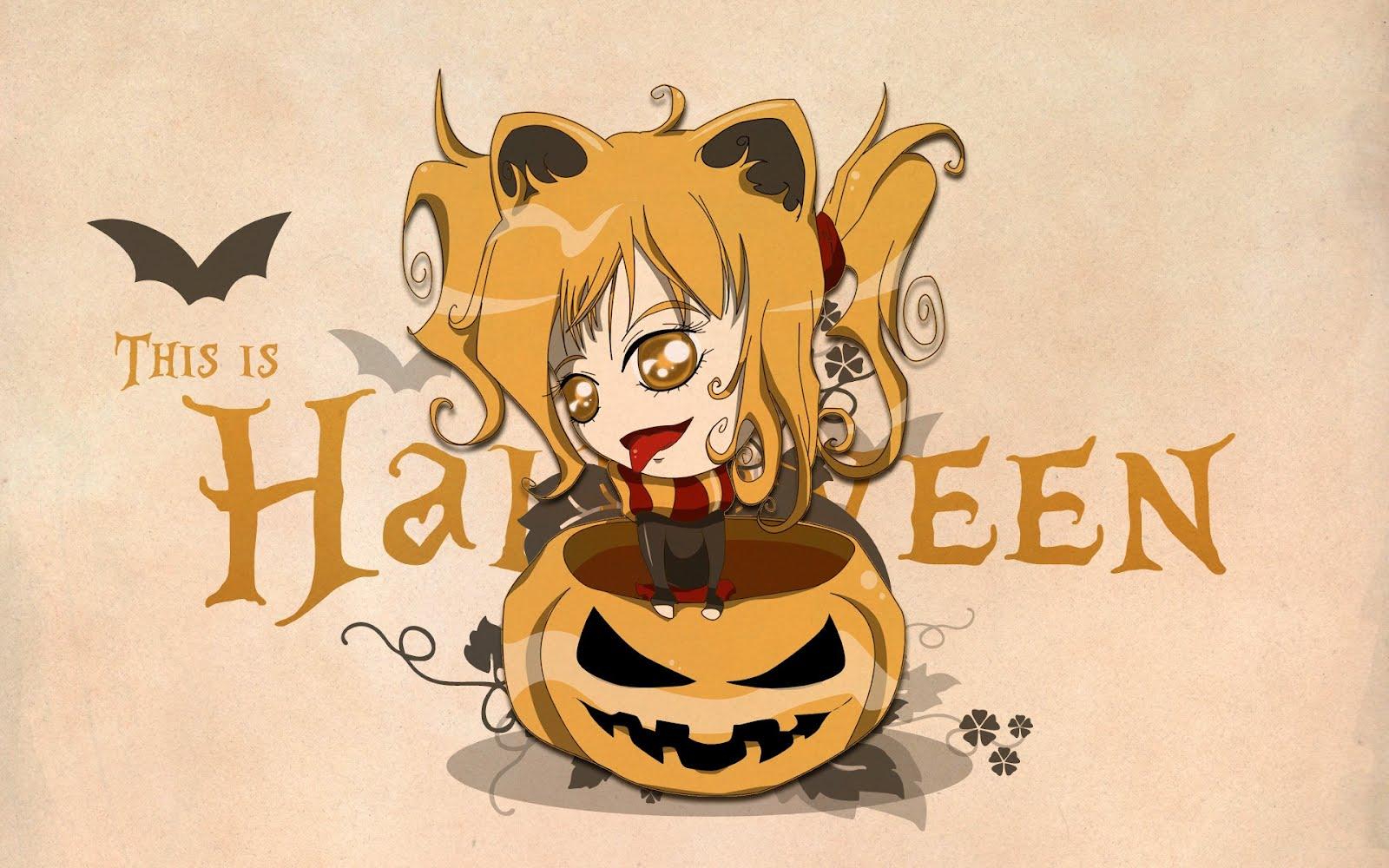Cartoon halloween wallpaper 2012 so funny wallpaper for holiday - Funny happy halloween wallpaper ...