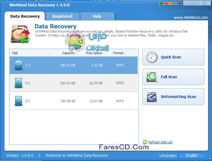 WinMend Data Recovery 1.4.9.0