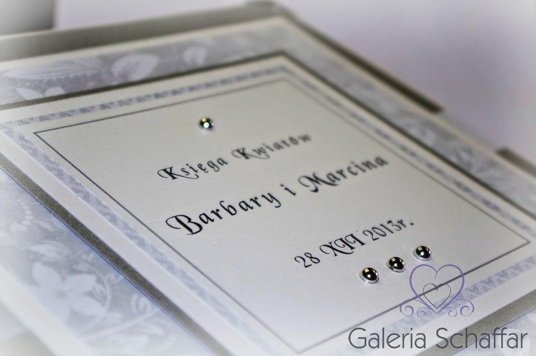 księga gości rękodzieło handmade hand made wedding crafts galeria schaffar