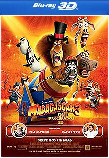 Madagascar 3: Os Procurados 3D Half-SBS BluRay 1080p + Legenda
