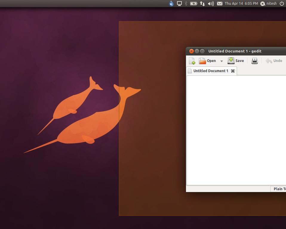 Menu-ubuntu