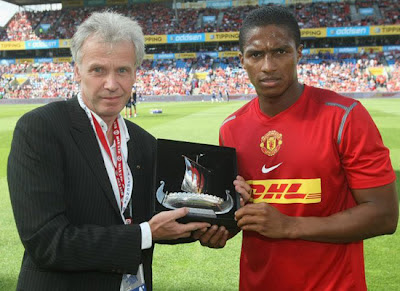 Antonio Valencia Man Utd 2012