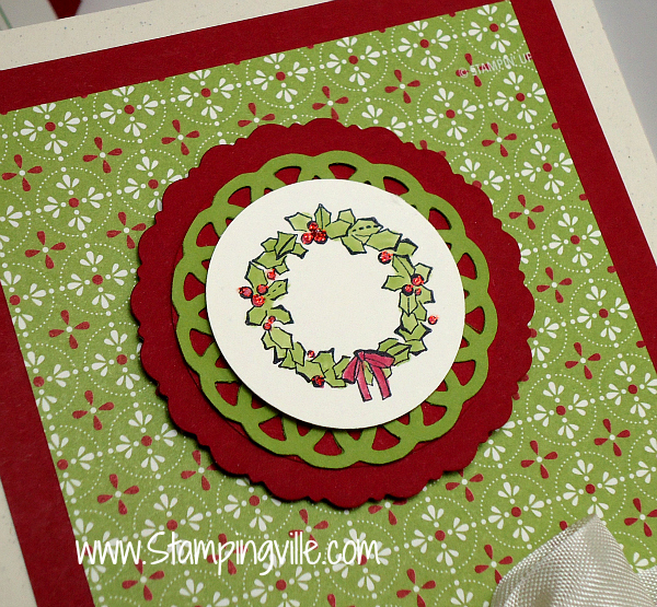 Wreath image focal point detail