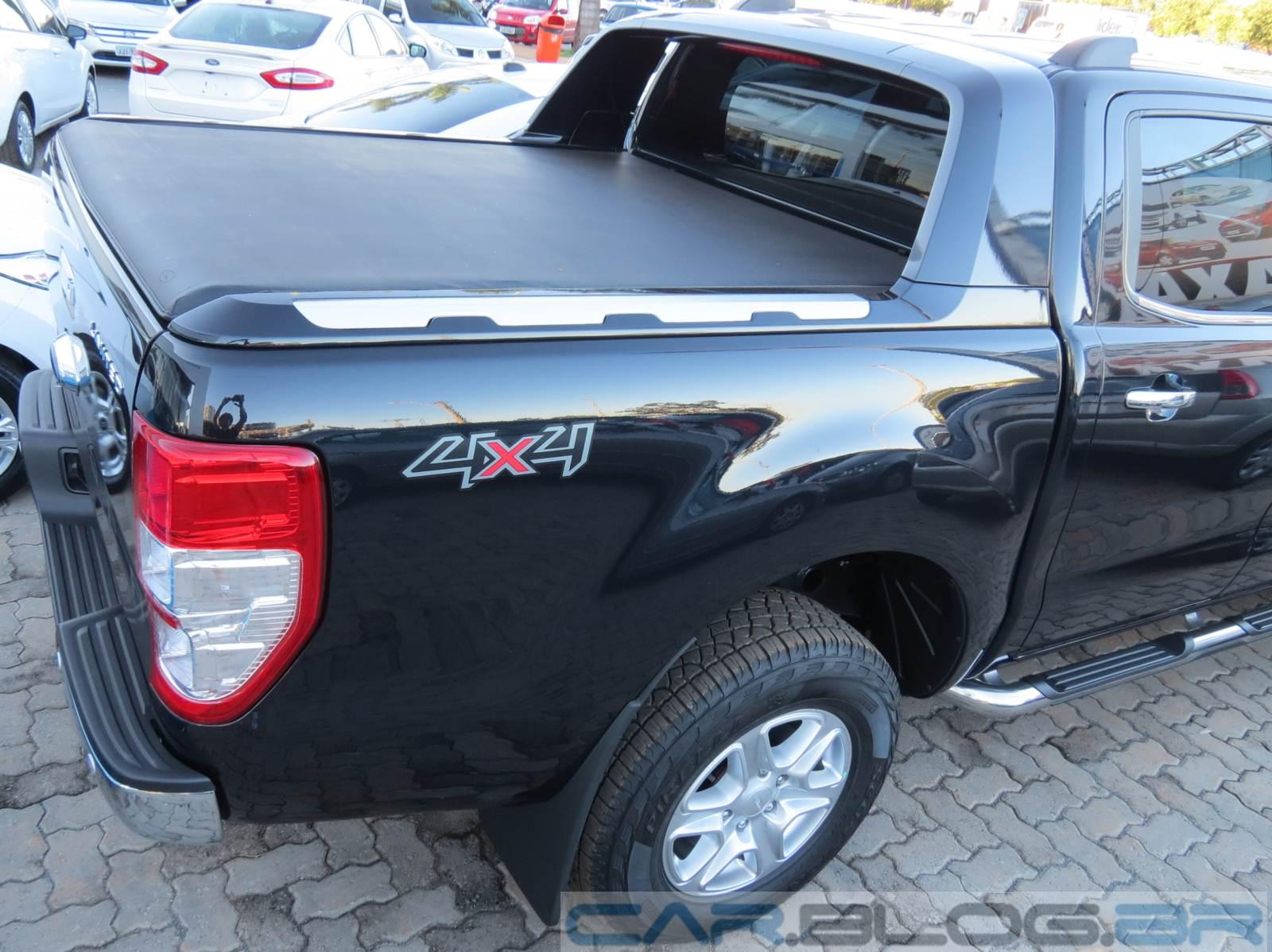 Ford ranger cabine dupla diesel 3 2 4x4 limited plus autom tica