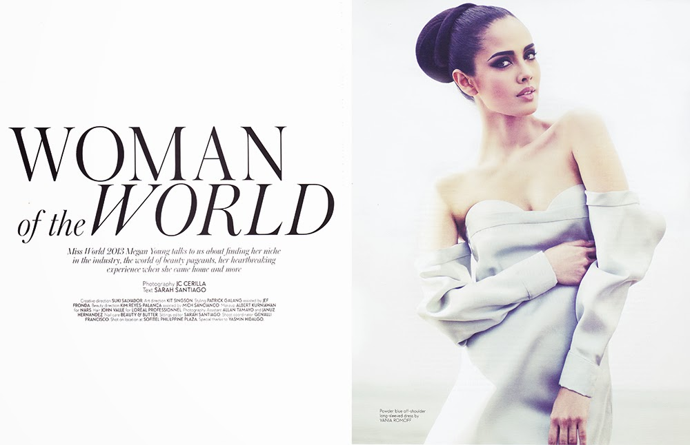 The official thread of Miss World 2013: Megan Lynne Young- Philippines  - Page 7 Miss+World+2013+Megan+Young+Mega+Magazine+January+2014-01