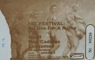 entrada de concierto del fat festival
