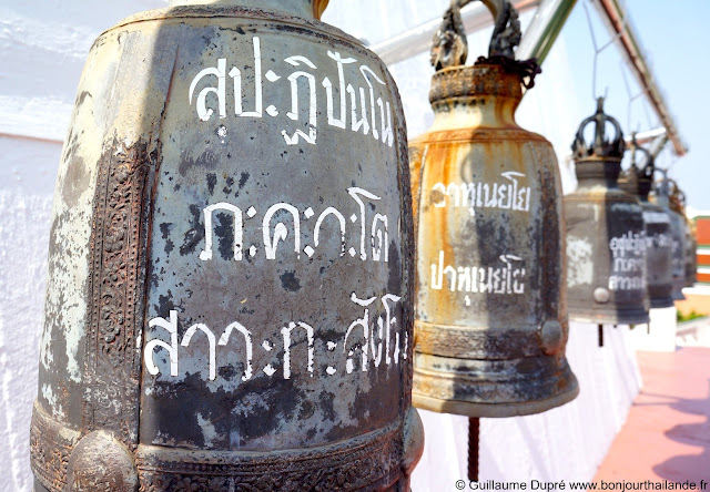 Bells in Golden Mountain Bangkok