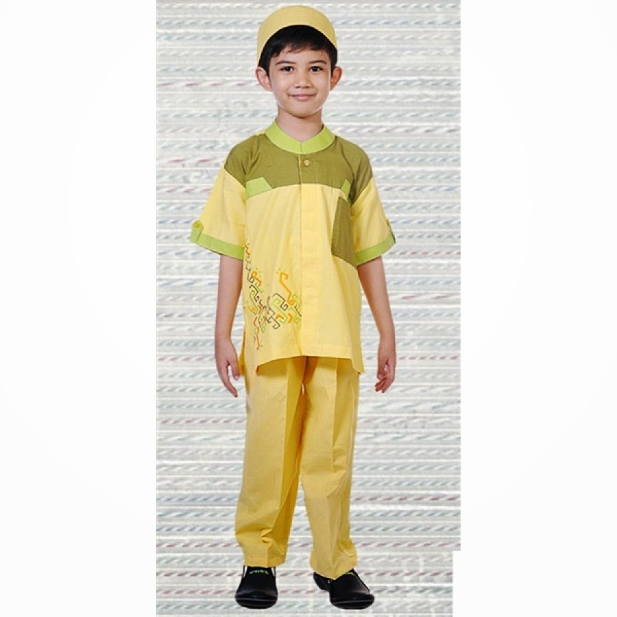 Contoh Desain Baju Koko Anak untuk Lebaran Terbaru | Model ...