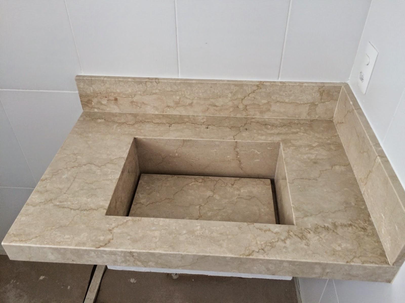 esculpida no próprio mármore o quedeu um charme a mais na bancada #74614C 1600x1200 Bancada Banheiro Saia