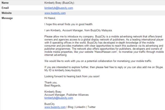 Terima Pelawaan Pengiklanan Platform Buzzcity