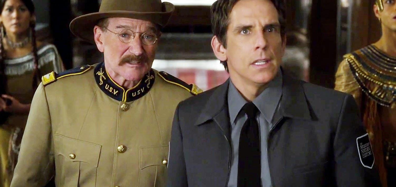 Assista ao trailer final da sequência Uma Noite no Museu 3, com Ben Stiller, Owen Wilson e Robin Williams