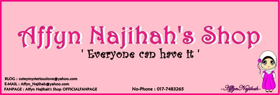Affyn Najihah's Shop