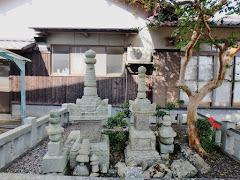 浦上村宗の墓(岡山県備前市木谷)