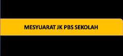 Mesyuarat 4 Kali Setahun - PBS