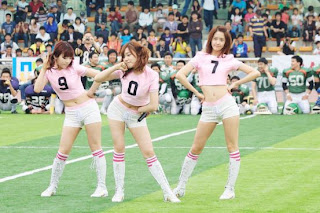 Im Yoona Korean Cute Girl Singer Sexy Photo at Namyangju Central Football Game 12