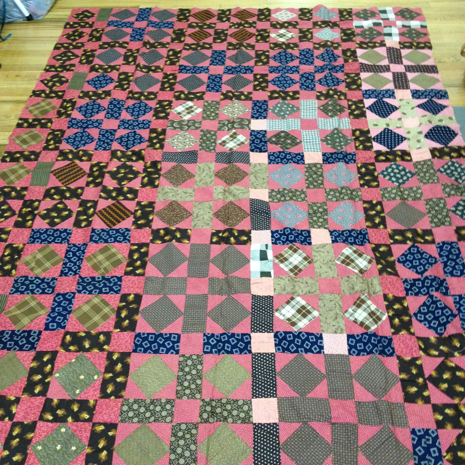 New Quilt Patterns For 2015 : My Joyful Journey: A New Old Quilt Top