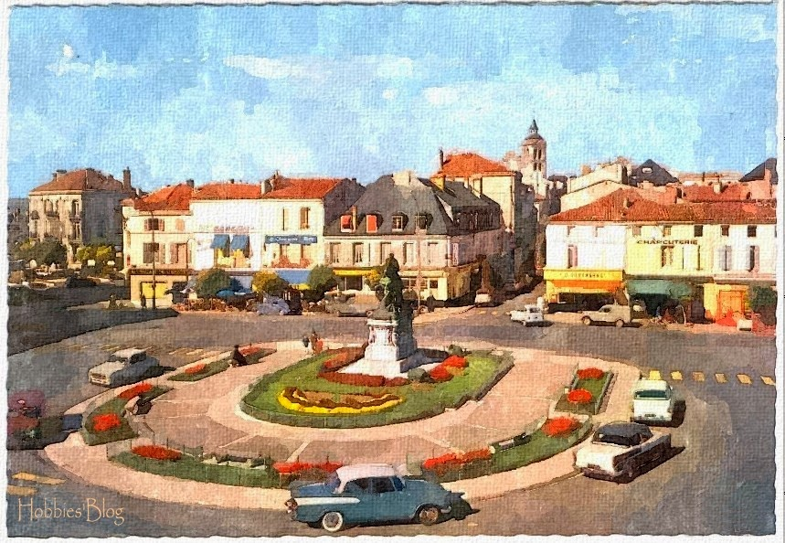 J'habite à Cognac et j'ai crée ce blog pour partager mes passions avec vous.