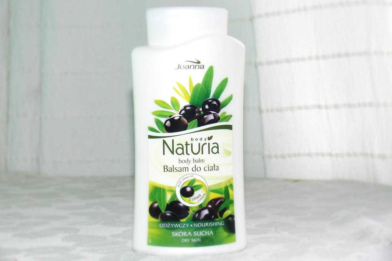 Joanna, Naturia Body,  balsam do ciała z oliwą z oliwek