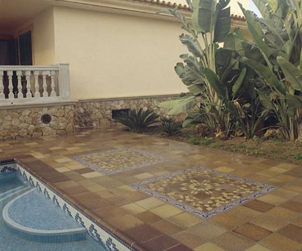 Terra antiqva ceramico azulejos zaragoza gres y - Azulejos de terraza ...