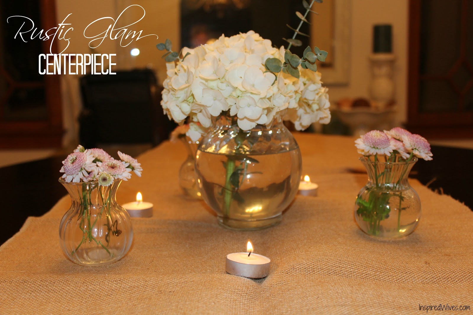 Dinner party centerpiece ideas