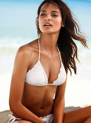 Gracie Carvalho sexy photos of model of Victoria's Secret bikini photoshoot