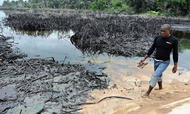 Nigerian oil spil