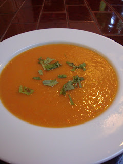 Recipe: Nice n' spicy carrot soup