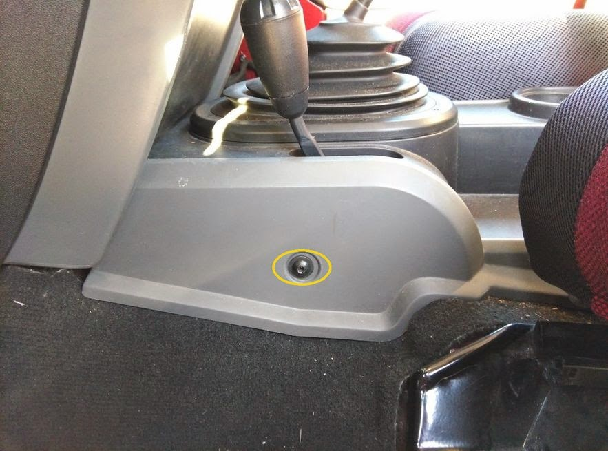 Simple view of the world fix jeep wrangler jk 4wd shifter loose or on both driver side and passenger side as yellow circle on following pictures you need to move the seats to access two screws on sides of glove box publicscrutiny Gallery