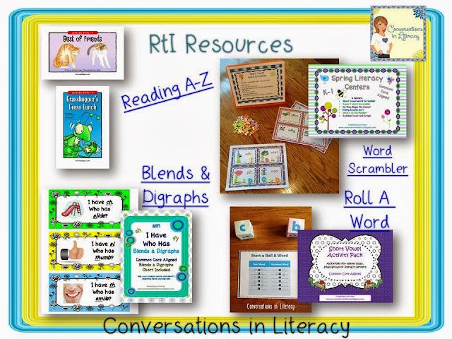 RtI activities and resources