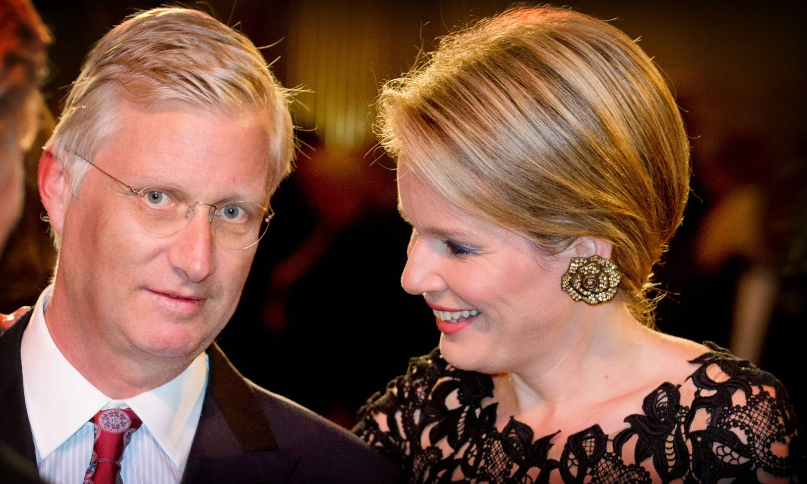 King Philippe, Queen Mathilde, Prince Laurent and Princess Claire of Belgium