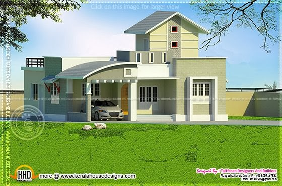 One floor house