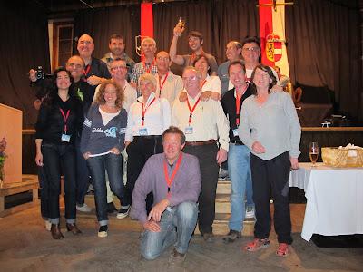 Grup de catalans i càntabres participants a l'encontre de Maunterndorf.