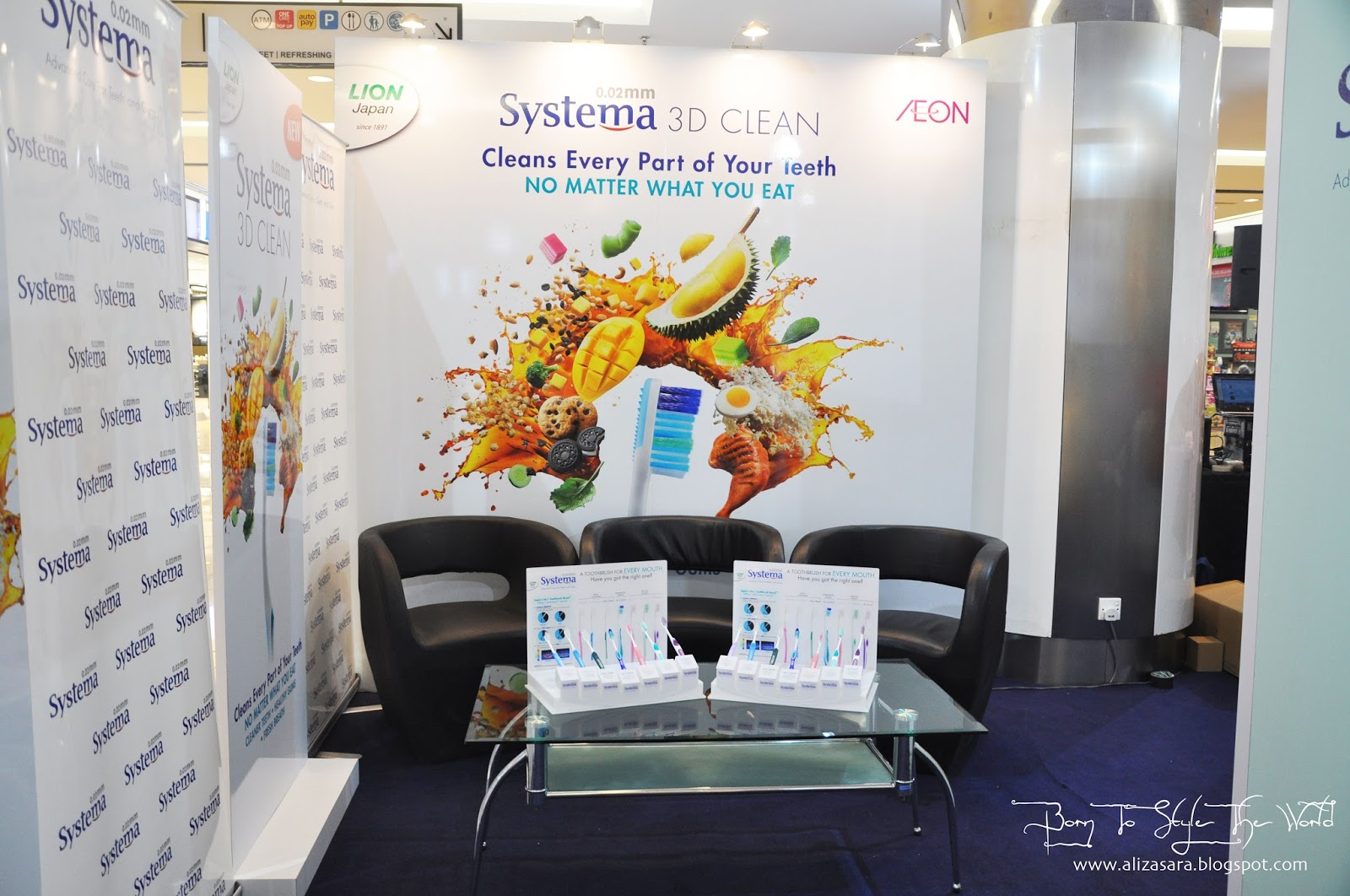 Sara Wanderlust New Systema 3d Clean Launch Toothbrush Power Regular The Event Space Of Campaign