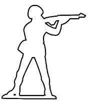 Army man drawing