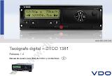 Tacógrafo digital DTCO 1381 Versión 1.4