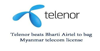 Norway based Telenor has managed to bag the crucial telecom licenses in Myanmar.