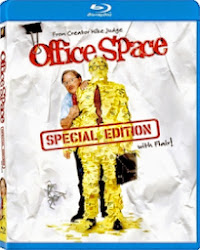 OFFICE SPACE on bluray