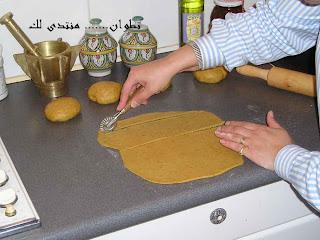 جروب المطبخ المغربي(الشباكية المغربية) -المسابقة-