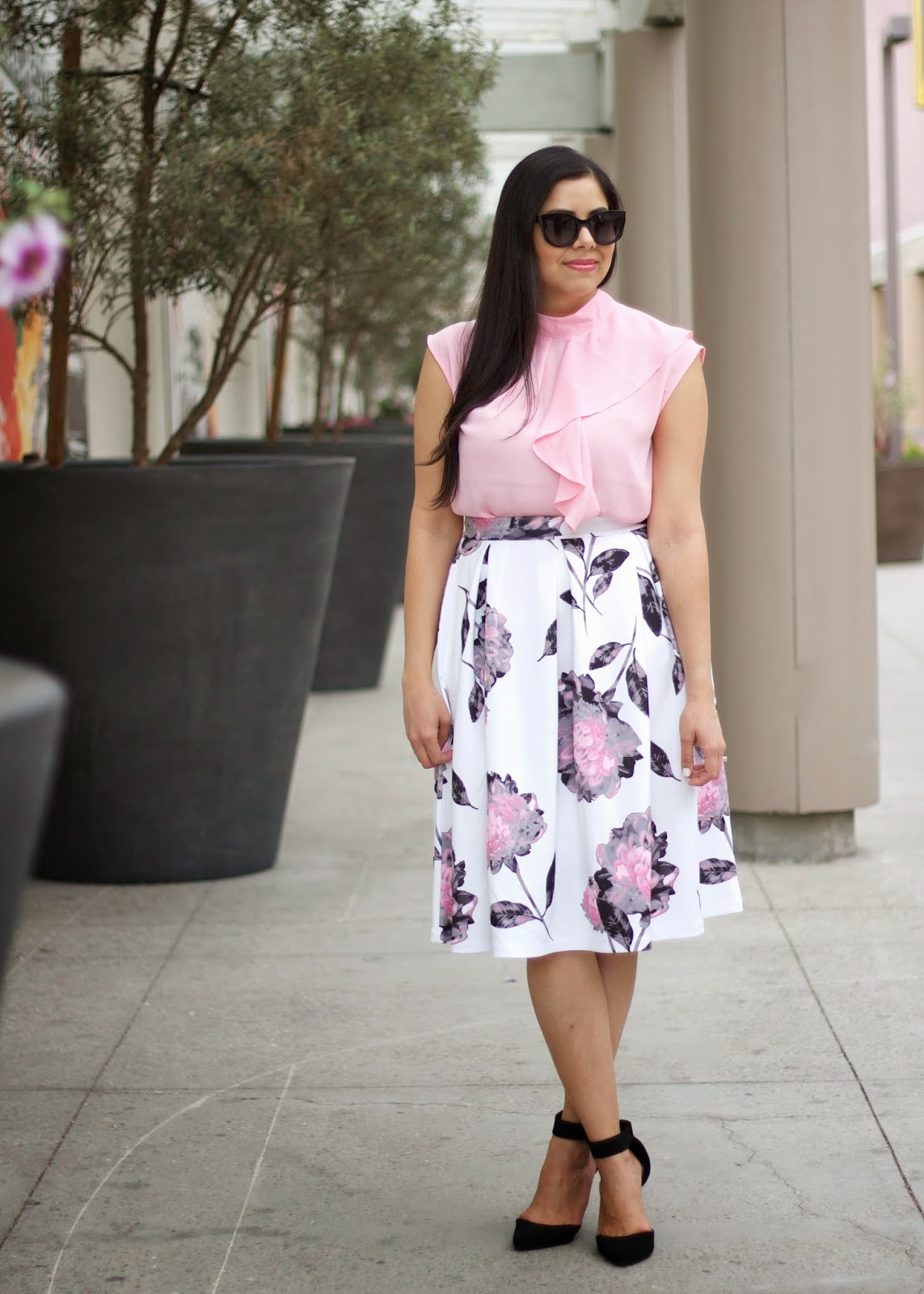 Westfield Mission Valley VIPink Brunch, New York & Co outfit, Westfield Mission Valley blogger, style blogger in san diego, fashion blogger in san diego